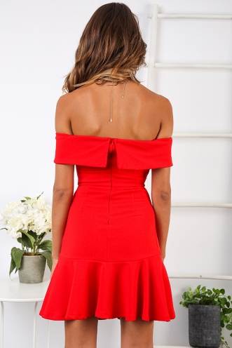 Lee-Anne Dress - Red