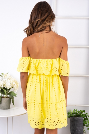 Panama Dress - Yellow