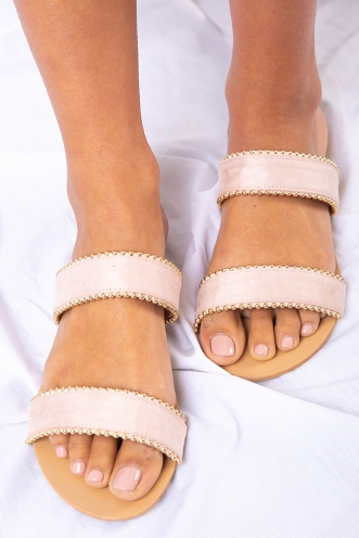 Billini - Palau - Blush Suede