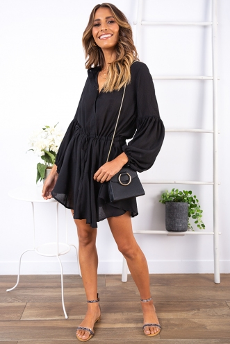 Hello Darlin Dress - Black