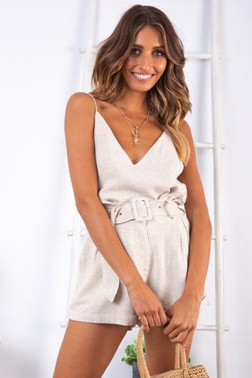 Cabo Cruise Top - Beige