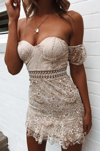 Krystal Dress - Champagne Sparkle ... 46fc6632cb4c
