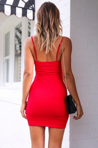 French Kiss Dress - Red