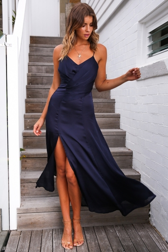 Kilani Dress - Navy