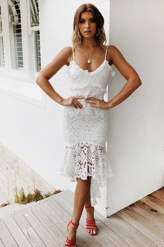 Analeese Dress - White