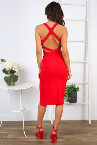 Myra Dress - Red