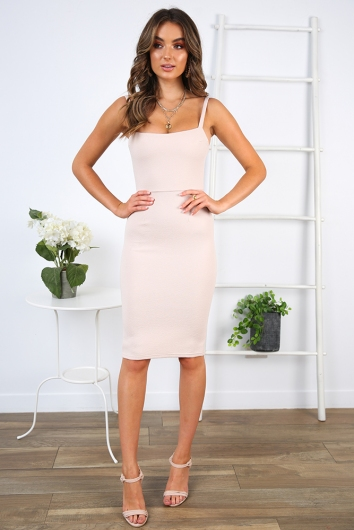 Makeeley Dress - Nude Texture