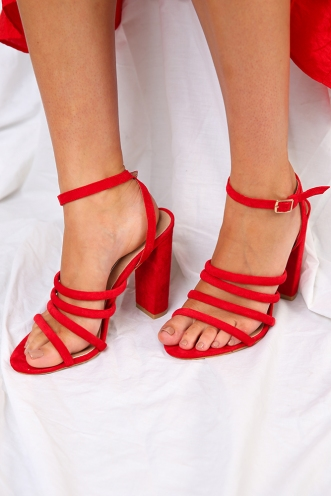 Billini - Frida - Red Suede