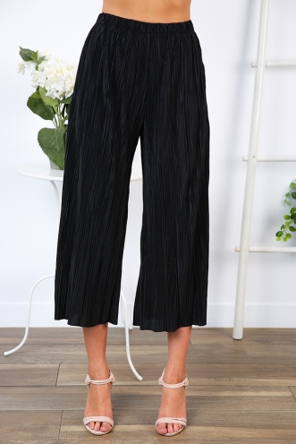 Julie Cropped Pants - Black