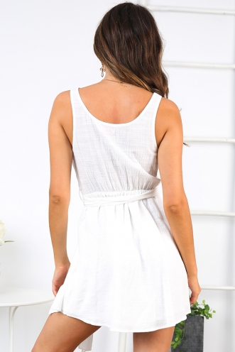 Emilee Dress - White