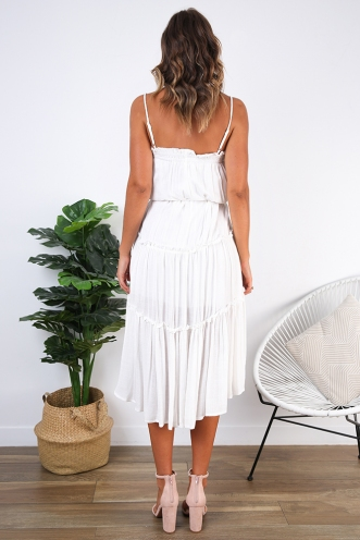 Caira Dress - White