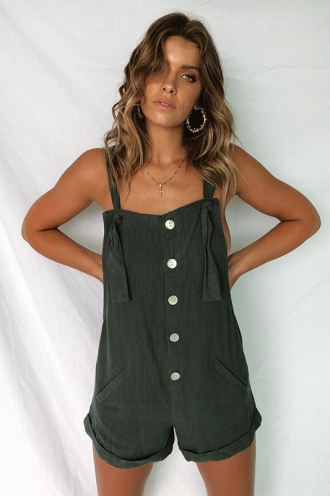 Emily Playsuit - Green