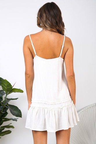 Dreaming Of You Dress - White