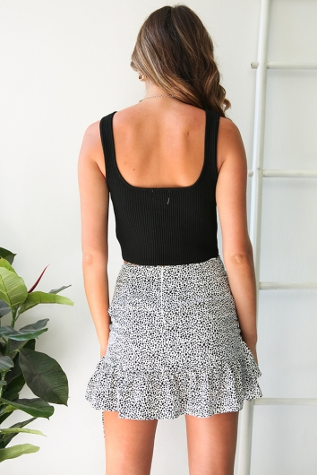 Clumsy Love Top - Black