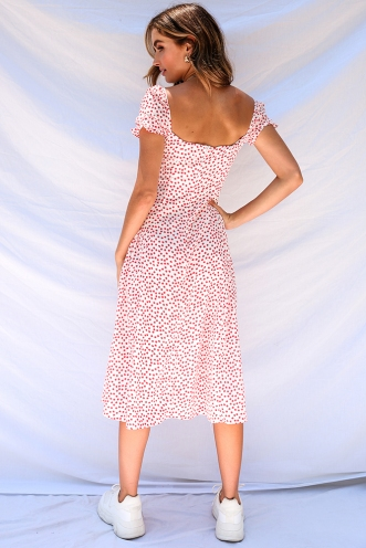 Karli Dress - Red Print