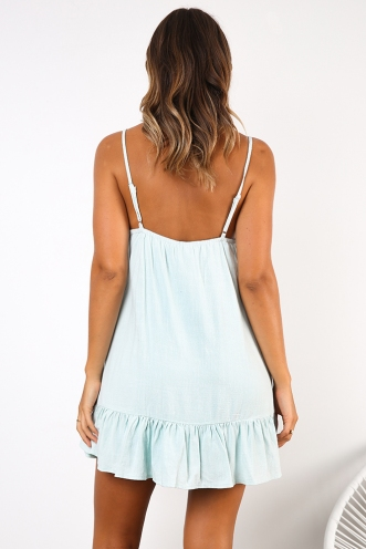 Sunshine Rays Dress - Mint