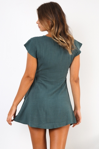 In The Sticks Dress - Green