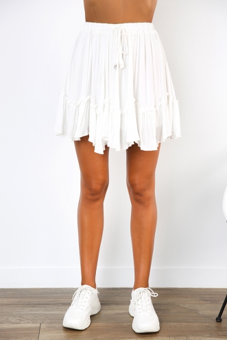 Ocean Alley Skirt - White