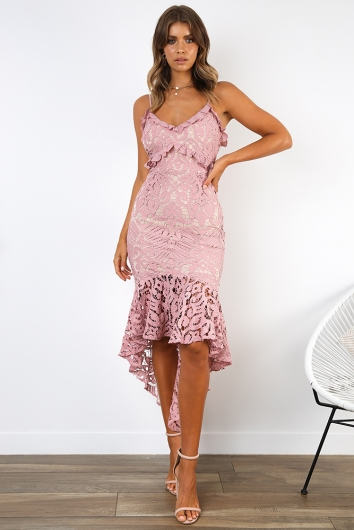 Analeese Dress - Blush