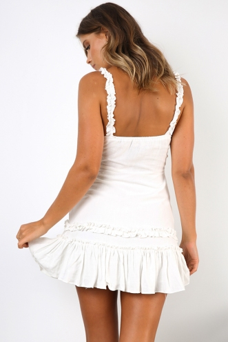 Karly Dress - White