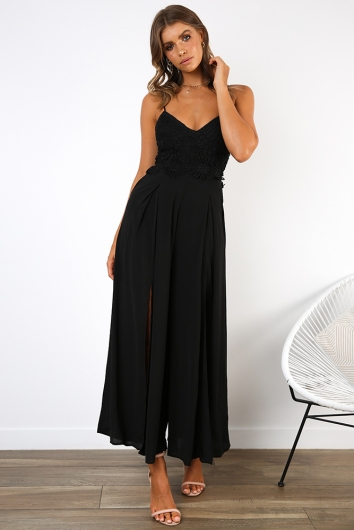 Maggie Jumpsuit - Black
