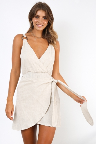 Jungle Lodge Dress - Natural Beige