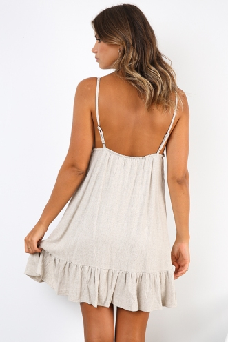 Sunshine Rays Dress - Beige