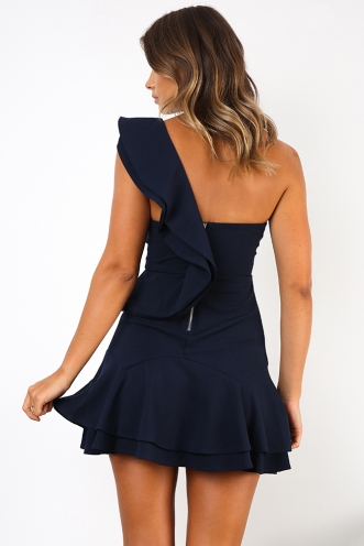 Safe Haven Dress - Navy