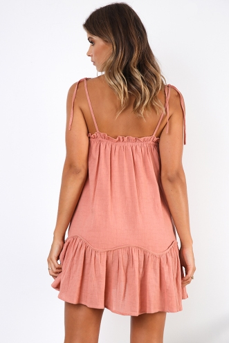 River Dress - Dusty Pink