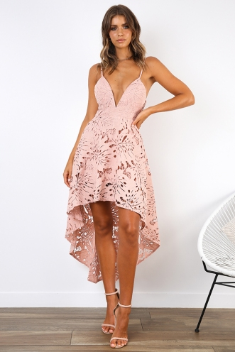 0eb9a81a51d ... Spring Race Dress - Blush