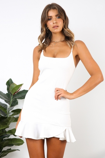 Daybreak Dress - White