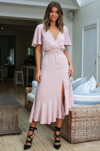 Abby Dress - Mauve