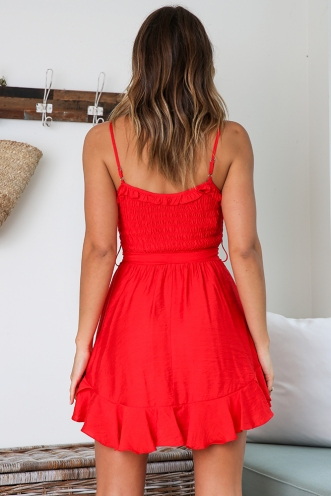 Wildest Moments Dress - Red