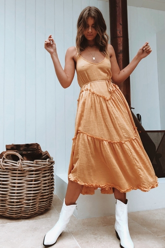 Chantelle Dress - Yellow
