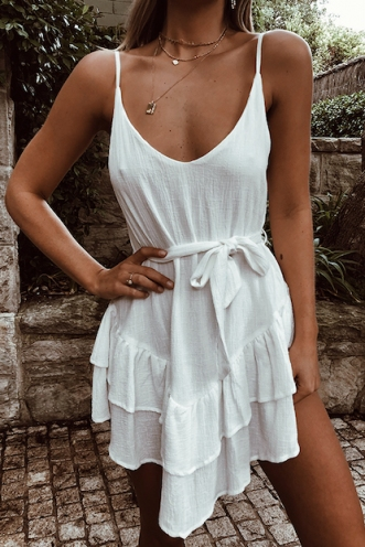 Canggu Dress - White