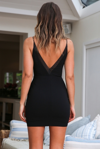 Monika Dress - Black