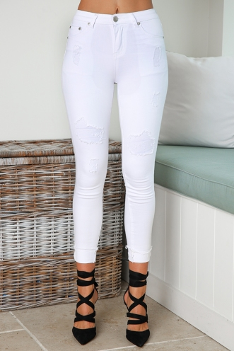 Lina Jeans - White