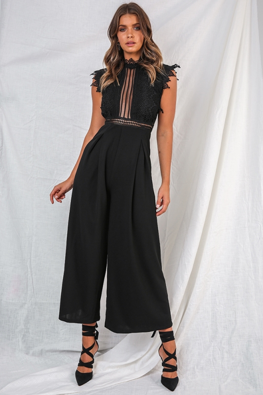a5942a074e Kasie Jumpsuit - Black. Loading zoom