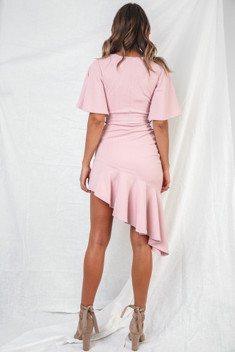 Wine and Dine Dress - Blush