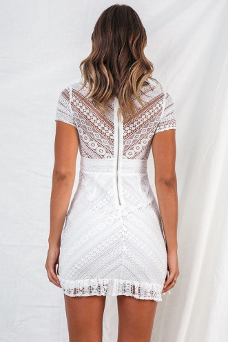 Mischa Dress - White