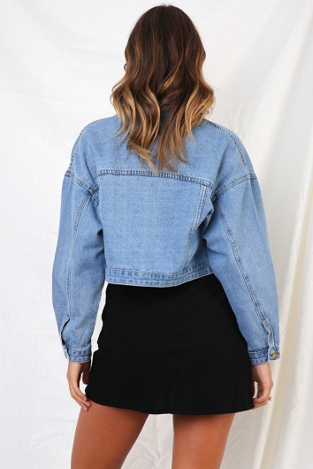 Hall Pass Jacket - Denim