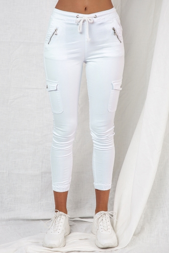 Carlin Pants - White