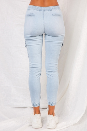 Carlin Pants - Light Blue