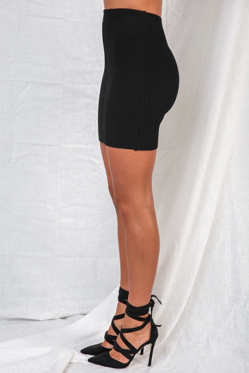 Bad Attitude Skirt - Black