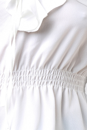Beth Top - White