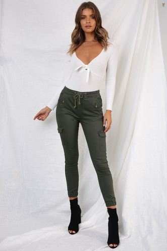 Whiskey and Wine Pants - Khaki