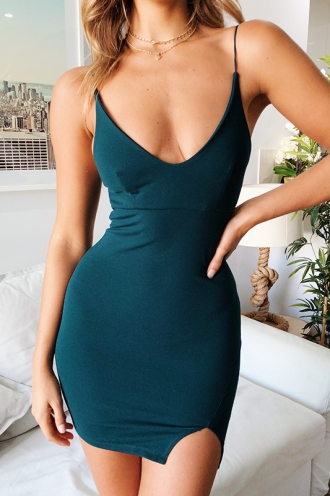 Kirsty Dress - Green