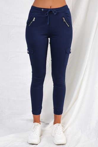 Carlin Pants - Navy