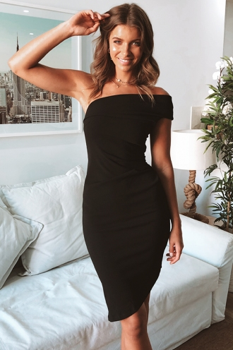 Gemmia Dress - Black