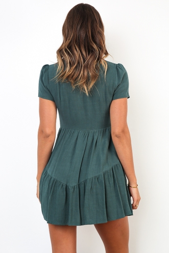 Rodeo Dress - Deep Green